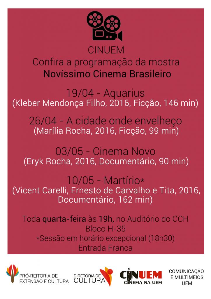 mostra novíssimo cinema brasileiro