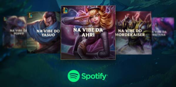 Riot Games e Spotify lançam projeto 'Sua Vibe no LoL