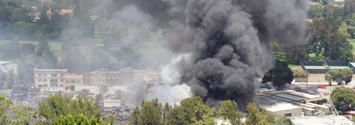 incêndio destrói estúdio da universal em 2008