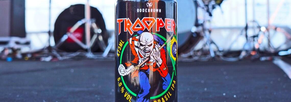 Cerveja Bodebrown do Iraon Maiden