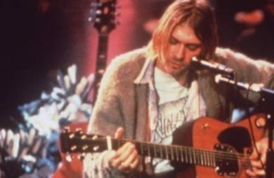 Leilão do Kurt Cobain