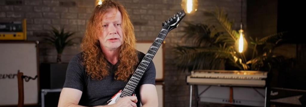Dave Mustaine faz leilão