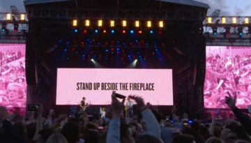 Coldplay canta Don´t Look Back In Anger
