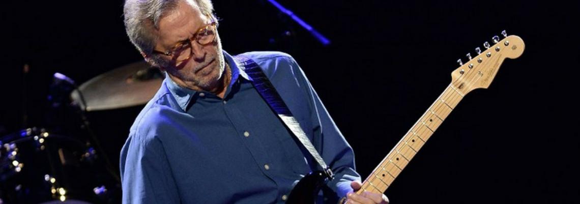 Eric Clapton diz que está ficando surdo em entrevista