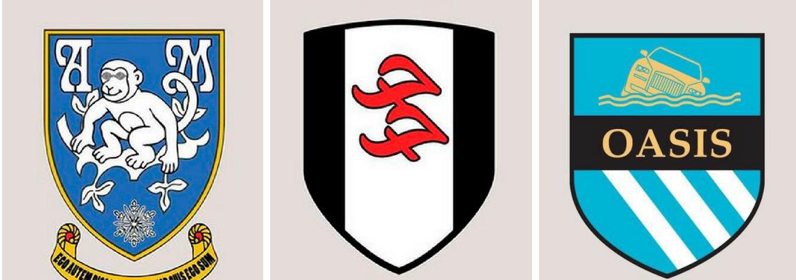 Logos de bandas viram símbolos de times de futebol 1e59c67ca20dd