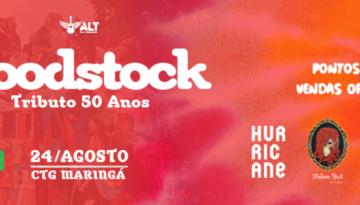 Woodstock Maringá 50 anos