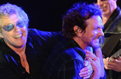 the who faz show com eddie vedder