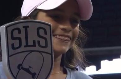 Rayssa Leal ganha etapa do SLS