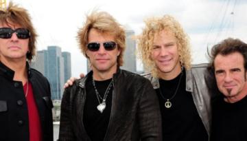 Evento show do Bon Jovi em Curitiba.