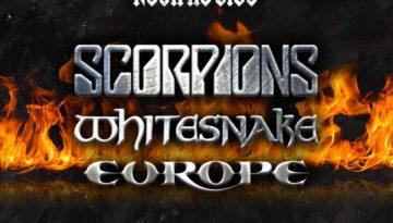 Show cover de Scorpions, Whitesnake e Europe em Curitiba na Pedreira Paulo Leminski