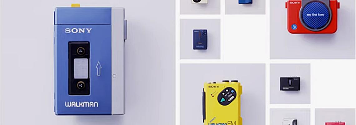 Sony lança novo Wallkman em comemoração do 40º aniversário