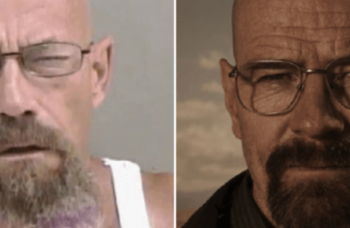 Sósia de Walter White de Breaking Bad é procurado por crime relacionado a metanfetamina
