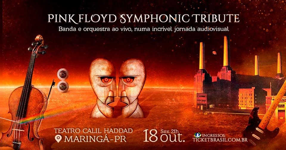 Tributo Pink Floyd em Maringá