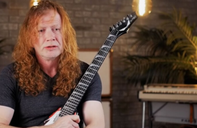 Dave Mustaine monta loja para vender itens pessoais: 'Não quero uma guitarra em meu caixão'