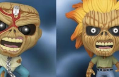 Eddie, mascote do Iron Maiden, ganha linha de bonecos Funko