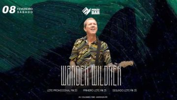 Wander Wildner no Porão Bar.